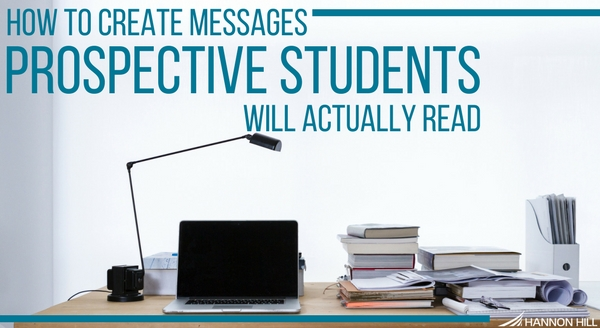 Cascade CMS banner cover image for new blog post on using effective messaging to reach current students