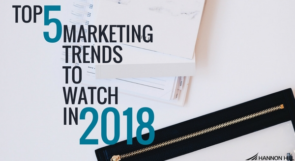 Cascade CMS blog banner image for trends in 2018
