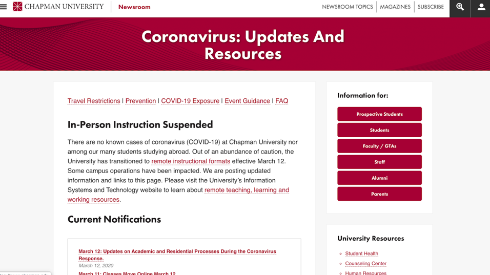 chapman-updates-and-resources