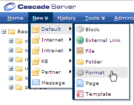script formats cascade server kb