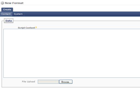 Script Formats - Cascade Server KB