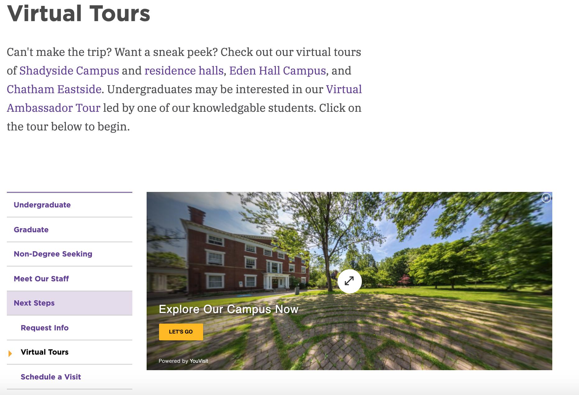 chatham virtual tour