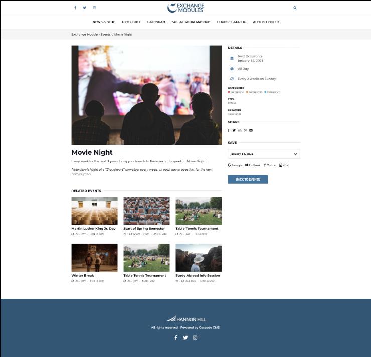 event screenshot 1