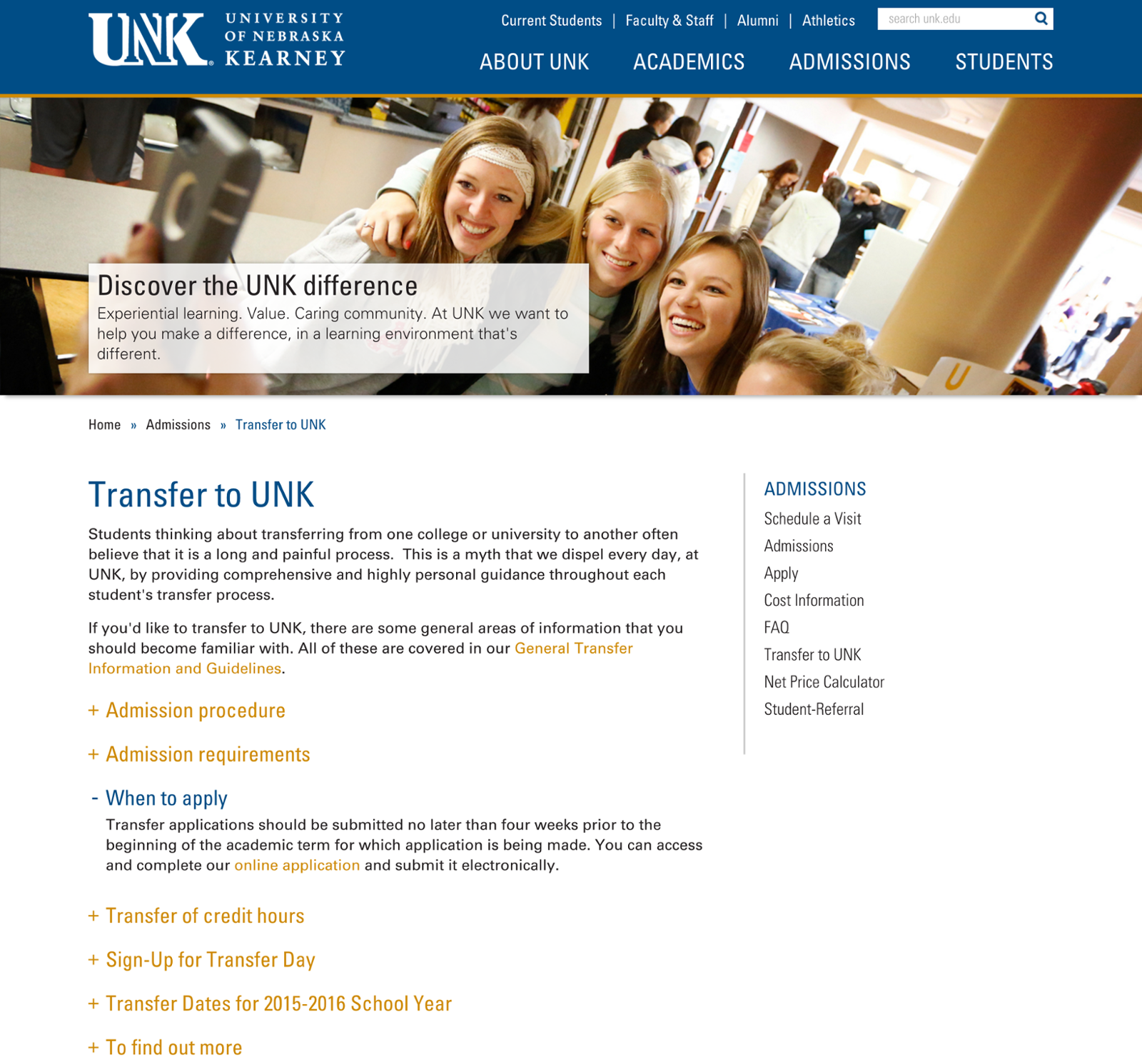 unk standard example