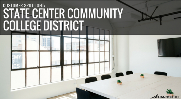 Banner image for Customer Spotlight: State Center Community College District