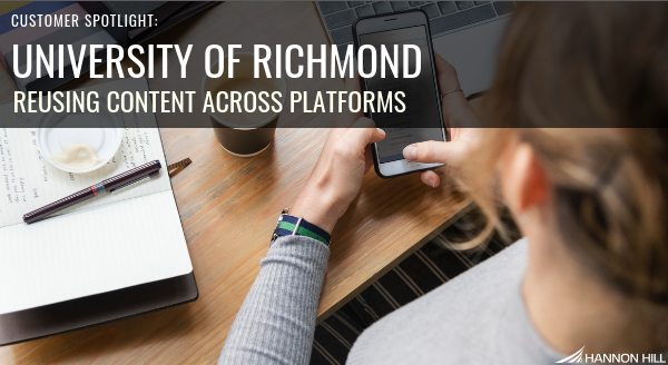 Banner image for Customer Spotlight: University of Richmond