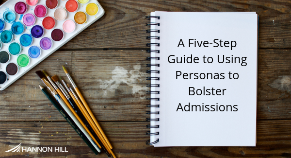 Banner image for A Five-Step Guide for Using Personas to Bolster Admissions