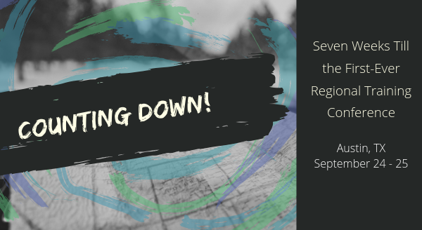Banner image for Counting down: seven weeks till the first-ever Regional Training Conference