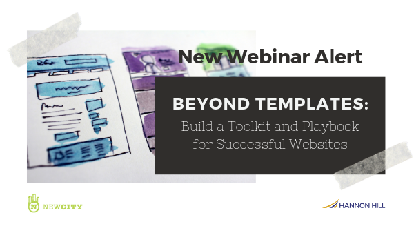 Banner image for New Webinar Alert - Build a Toolkit and Playbook for Successful Websites